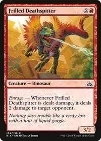 Frilled Deathspitter, Magic: The Gathering, Rivals of Ixalan
