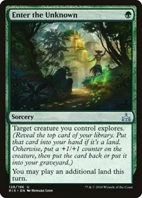 Enter the Unknown, Magic: The Gathering, Rivals of Ixalan