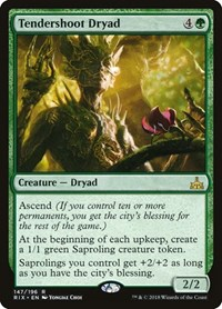 Tendershoot Dryad, Magic: The Gathering, Rivals of Ixalan