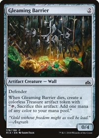 Gleaming Barrier, Magic, Rivals of Ixalan