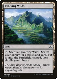 Evolving Wilds, Magic, Rivals of Ixalan