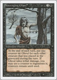 Scavenging Ghoul, Magic: The Gathering, Revised Edition
