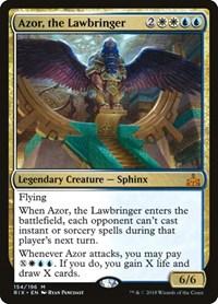 Azor, the Lawbringer, Magic: The Gathering, Rivals of Ixalan