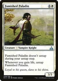 Famished Paladin, Magic, Rivals of Ixalan