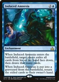 Induced Amnesia, Magic: The Gathering, Rivals of Ixalan