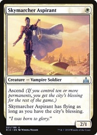 Skymarcher Aspirant, Magic: The Gathering, Rivals of Ixalan