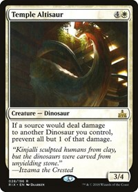 Temple Altisaur, Magic: The Gathering, Rivals of Ixalan