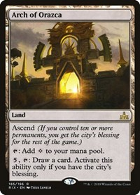 Arch of Orazca, Magic: The Gathering, Rivals of Ixalan