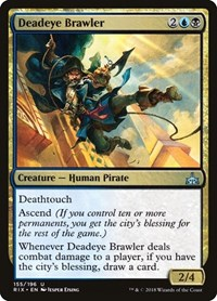 Deadeye Brawler, Magic: The Gathering, Rivals of Ixalan