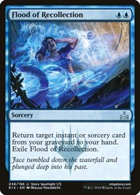 Flood of Recollection, Magic: The Gathering, Rivals of Ixalan