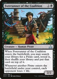 Forerunner of the Coalition, Magic: The Gathering, Rivals of Ixalan