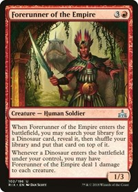Forerunner of the Empire, Magic: The Gathering, Rivals of Ixalan