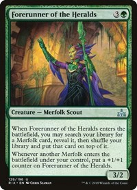 Forerunner of the Heralds, Magic: The Gathering, Rivals of Ixalan