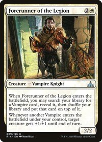 Forerunner of the Legion, Magic: The Gathering, Rivals of Ixalan