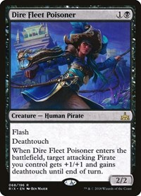 Dire Fleet Poisoner, Magic: The Gathering, Rivals of Ixalan