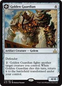 Golden Guardian, Magic: The Gathering, Rivals of Ixalan