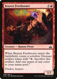 Brazen Freebooter, Magic: The Gathering, Rivals of Ixalan