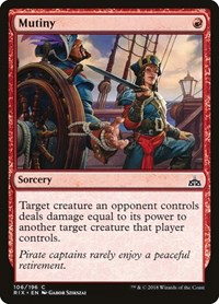 Mutiny, Magic: The Gathering, Rivals of Ixalan