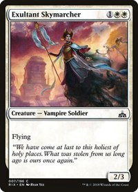 Exultant Skymarcher, Magic: The Gathering, Rivals of Ixalan