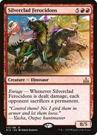 Silverclad Ferocidons, Magic: The Gathering, Rivals of Ixalan