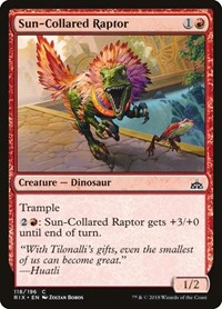 Sun-Collared Raptor, Magic: The Gathering, Rivals of Ixalan