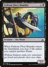 Fathom Fleet Boarder, Magic: The Gathering, Rivals of Ixalan