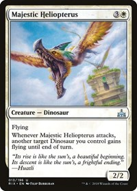 Majestic Heliopterus, Magic: The Gathering, Rivals of Ixalan