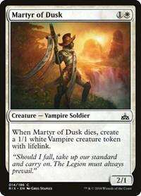 Martyr of Dusk, Magic, Rivals of Ixalan