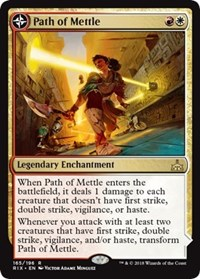 Path of Mettle, Magic: The Gathering, Rivals of Ixalan