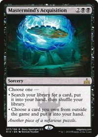Mastermind's Acquisition, Magic: The Gathering, Rivals of Ixalan