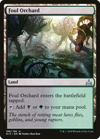 Foul Orchard, Magic: The Gathering, Rivals of Ixalan