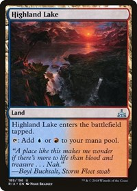 Highland Lake, Magic: The Gathering, Rivals of Ixalan