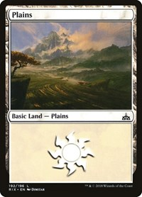 Plains, Magic, Rivals of Ixalan