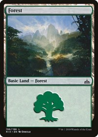 Forest, Magic: The Gathering, Rivals of Ixalan