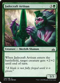 Jadecraft Artisan, Magic: The Gathering, Rivals of Ixalan