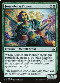 Jungleborn Pioneer, Magic: The Gathering, Rivals of Ixalan