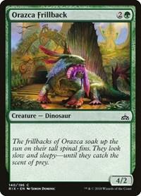 Orazca Frillback, Magic, Rivals of Ixalan