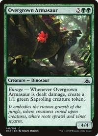 Overgrown Armasaur, Magic: The Gathering, Rivals of Ixalan