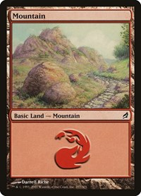 Mountain (297), Magic: The Gathering, Lorwyn