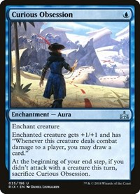 Curious Obsession, Magic: The Gathering, Rivals of Ixalan