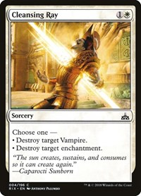 Cleansing Ray, Magic: The Gathering, Rivals of Ixalan