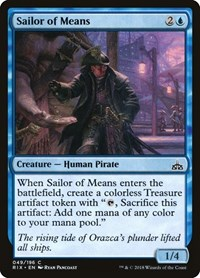 Sailor of Means, Magic, Rivals of Ixalan