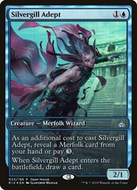 Silvergill Adept, Magic: The Gathering, Open House Promos