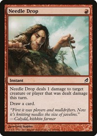 Needle Drop, Magic: The Gathering, Lorwyn