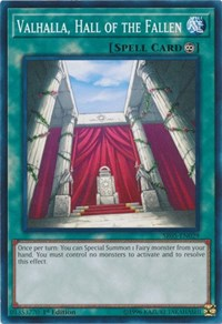 Valhalla, Hall of the Fallen, YuGiOh, Structure Deck: Wave of Light