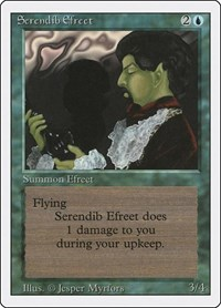Serendib Efreet, Magic: The Gathering, Revised Edition