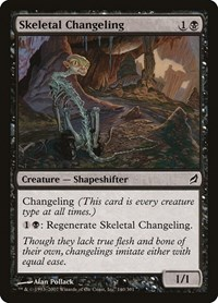 Skeletal Changeling (Foil)