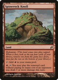 Spinerock Knoll, Magic: The Gathering, Lorwyn