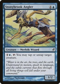 Stonybrook Angler, Magic: The Gathering, Lorwyn