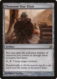 Thousand-Year Elixir, Magic: The Gathering, Lorwyn
